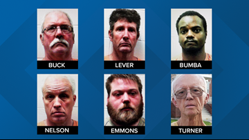 Six men arrested in prostitution sting in Lewiston