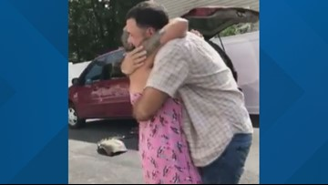 Police help Maine mother and her Marine son reunite after four years