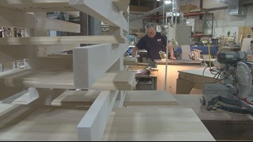 Employing people living with a disability is the mission at Maine Woodworks