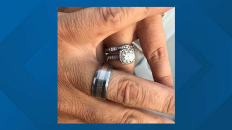 Anthony Liberatore lost his ring at Branch Lake in Ellsworth a day before his September 3rd wedding anniversary, but after days of searching, his 12-year-old daughter found it.