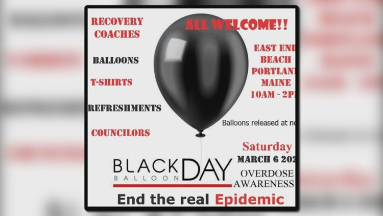 Recovery community to honor overdose victims through 'Black Balloon Day' event
