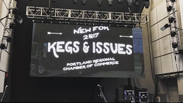 Kegs and Issues event kickoff