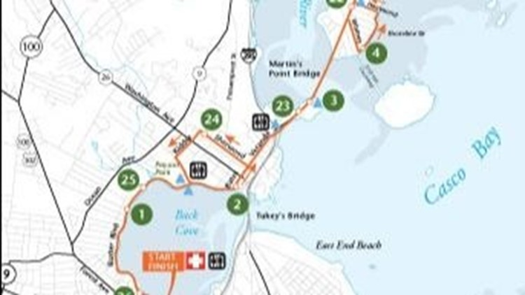 Road Closures In Portland For 2018 Maine Marathon Newscentermaine Com