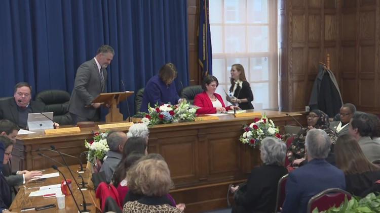 Mayor Kate Snyder gives inauguration speech