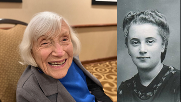 """4'11"""" French-Jewish spy who crossed enemy lines shares her story with Mainers"""