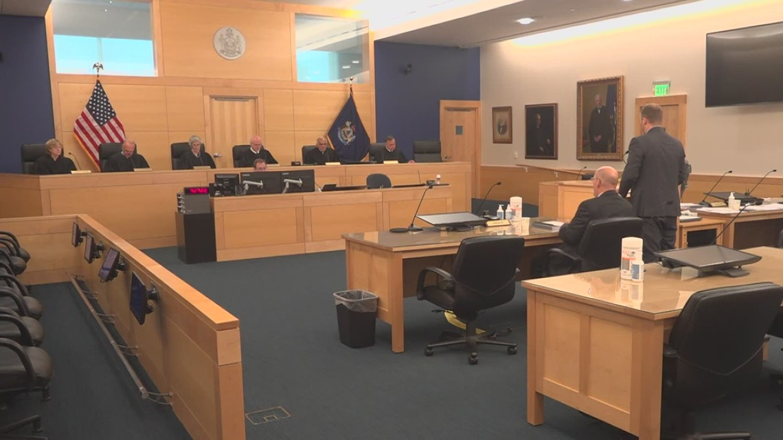 Maine Supreme Court hears appealarguments in 2017 Millinocketmurder case