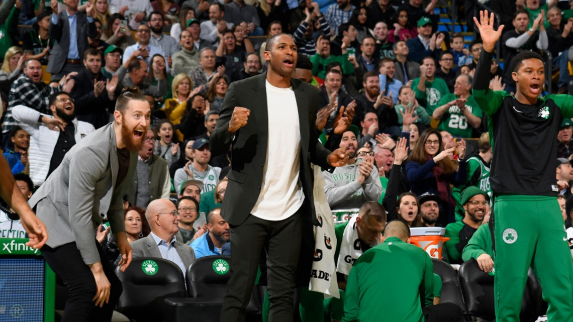 Al Horford will be 'out a few games' with patellofemoral pain syndrome