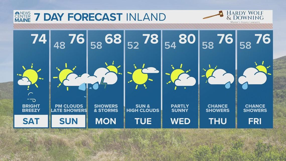 NEWS CENTER Maine Weather Video Forecast