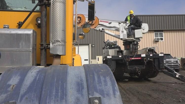 Versant Power donates truck to students at EMCC