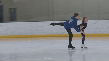 Maine junior skaters prepare for U.S. Nationals