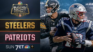 Patriots vs Steelers TONIGHT on NEWS CENTER Maine