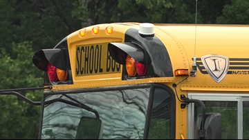 School bus safety lights were not on when boy was hit, Farmington police say