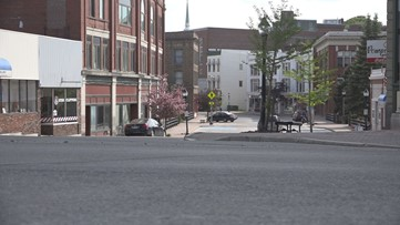 Some Maine cities offer restaurants and retail stores to use outdoor spaces