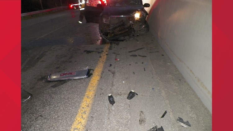 Old Town man killed in Bangor crash after hitting guardrail on I-95 south