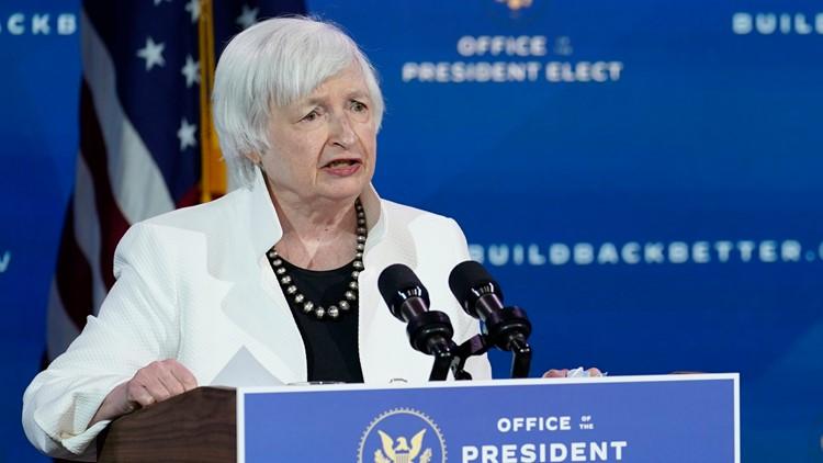 Janet Yellen wins Senate approval as treasury secretary |  newscentermaine.com
