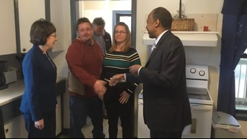 HUD Secretary visits Lewiston to see programs in action