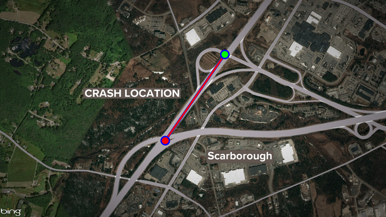 Scarborough crash map