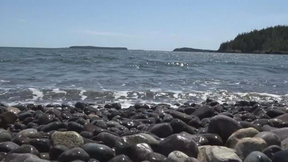Jasper Beach affected by June storms