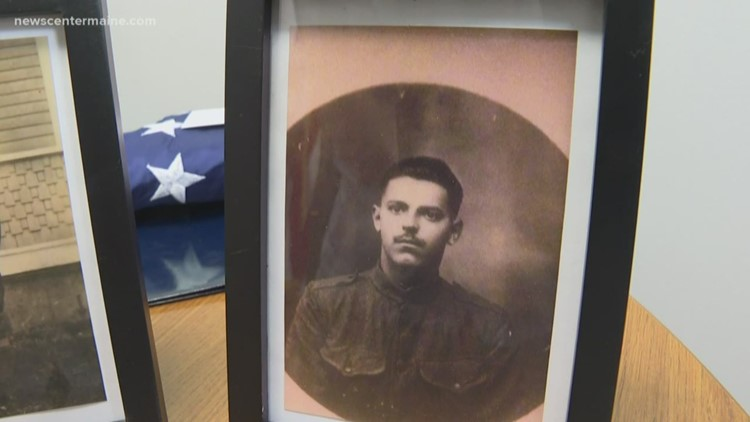 Maine World War I vet honored posthumously with Purple Heart
