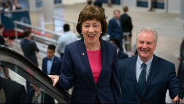 Collins casts 7,000th straight vote as reelection race looms
