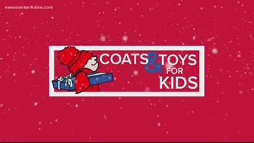Coats & Toys for Kids 2018: 17,000 coats, 6,000 toys donated