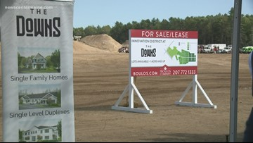 Scarborough options building community center at former Scarborough Downs location
