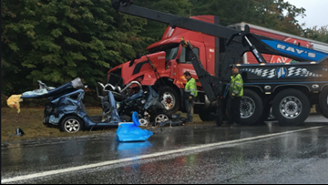 Driver taken to MMC with 'serious injuries' after severe Turnpike crash