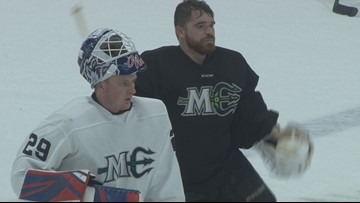 Maine Mariners hit the ice for training camp
