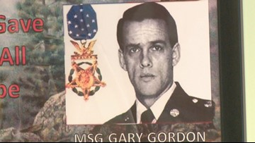 Master Sgt. Gary Gordon remembered 25 years later
