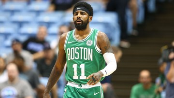 Kyrie Irving pledges loyalty to Boston Celtics: 'I plan on re-signing here'