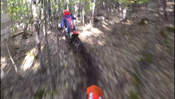 Dirt bikers find hundred-mile loop in Maine