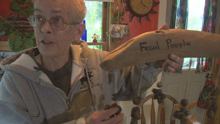 Maine 'moose poop' artist getting 'Tirdy Works' TV show