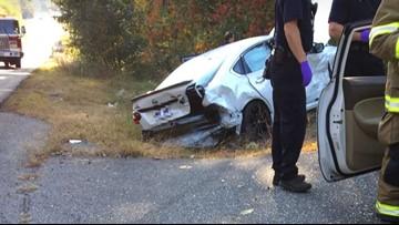 4-vehicle crash in Sanford hospitalizes at least 2