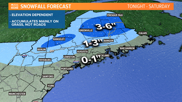 Snow, rain, wind, cold on the way Saturday; blustery on Sunday