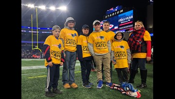 Woolwich teen's wish comes true at Patriots/Chiefs game
