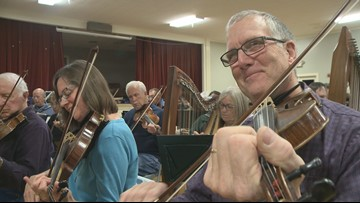 How donation-based fiddle lessons grew into an orchestra of 140 members
