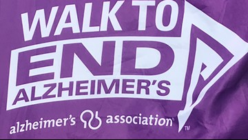Mainers walk to find a cure for Alzheimer's disease