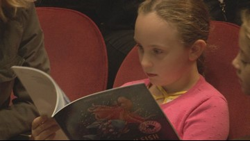 Ovations Offstage puts books in the hands of kids using performance