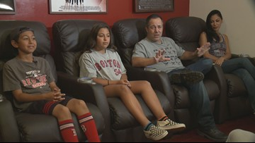 Portland native and his family cheer for Red Sox on the West Coast