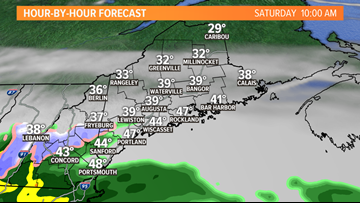 Rain, some snow, and gusty wind to start the weekend | CORY'S MAINE WEATHER BLOG