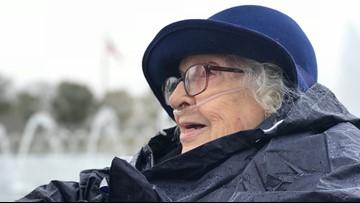 Honor Flight Maine | Woman Veteran shares secret she kept most of her life