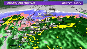 Nor'easter hitting with snow, sleet, rain and strong winds | Ryan Breton's Maine Weather Blog