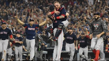 The Boston Red Sox are world champs for the ninth time