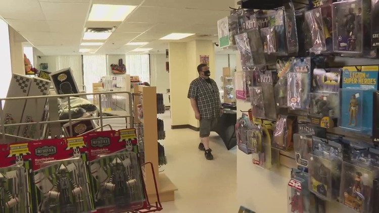 Keep ME Open: Vintage toy store opens in South Portland