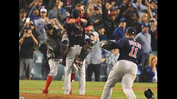 Red Sox beat Dodgers to win fourth World Series championship in 15 years