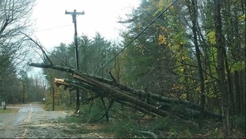 Historic October wind storm hit Maine one year ago