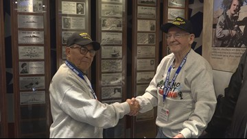 Long lost WWII shipmates reunite after 70 years