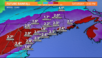 Soaking rain Friday into Saturday | Maine Weather Blog