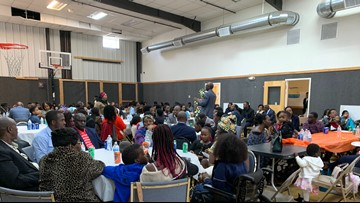 Christian center in Westbrook offers Thanksgiving feast for asylum seekers and refugees