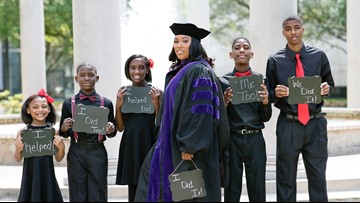 Single mom of 5 passes bar exam after graduating law school